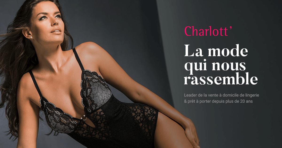 plus grand choix de véritable frais frais Charlott' - Vente à Domicile de Lingerie et Prêt-à-porter