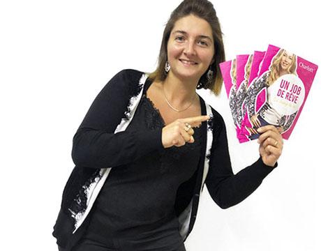 Cyndie nous raconte son aventure de VDI chez Charlott'
