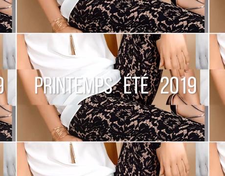 Tendances Prêt-à-porter Printemps-été 2019