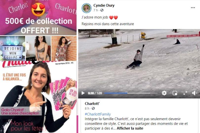 Cyndie VDI et recruteuse Charlott'