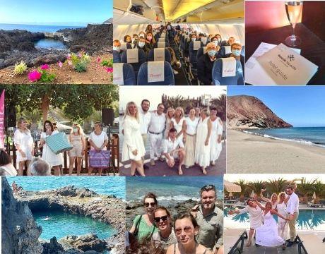 Les meilleures VDI Charlott' en voyage récompense à Tenerife