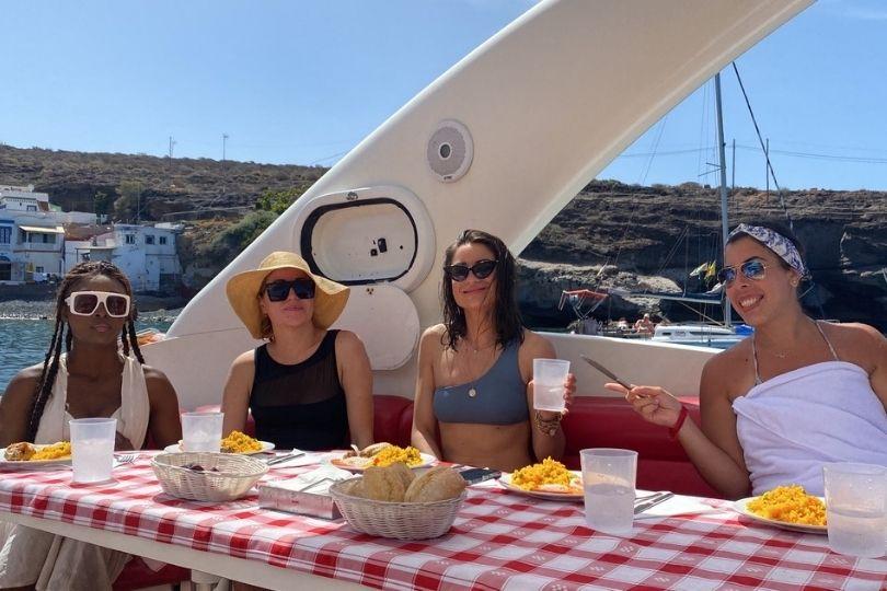 Charlott' et les influenceuses en crosiere à Tenerife