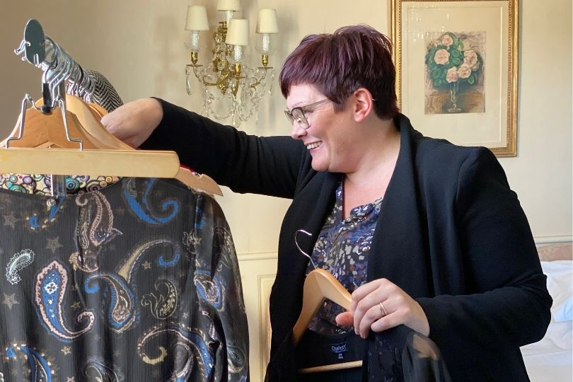 Marie-Laure Vendeuse à Domicile Charlott' a gagné la découverte de la nouvelle collection Lingerie et PAP en avant-première
